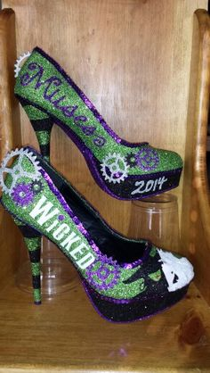 Wicked inspired Muses shoes I couldn't wear - but amazing