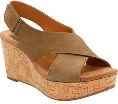 Clarks ® 'Caslynn Shae' Wedge Sandal (Women) - $95.99