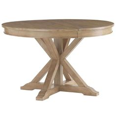 Monterey Sands San Marcos Round Dining Table by Lexington at Becker Furniture World Solid Wood Dining Table, Extendable Dining Table, Dining Table In Kitchen, Round Dining Table, Dining Set, Lexington Furniture, Luxury Dining Tables, Lexington Home, Under The Table