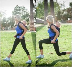 Babywearing park workout - I will be doing this daily as soon as my Ergo arrives!