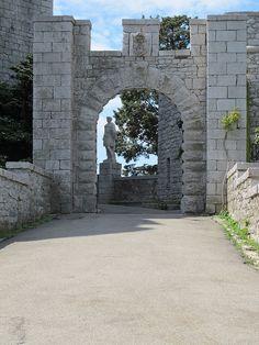 il castello di Duino, in provincia di TRIESTE - Friuli-Venezia Giulia, Italy. 45°46′29″N 13°36′22″E