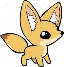 Image result for cute cartoon baby foxes