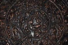 Copper Wheel of Life Symbolic Representation, Wheel Of Life, Copper, Brass
