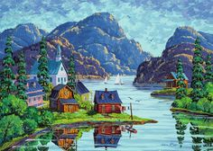 The Saguenay Fjord (Canadian Collection Canadienne) Canada Jigsaw Puzzle