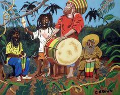 Rastafari Bob Marley Art, Reggae Bob Marley, African American Artist, American Artists, Rastafari Art, Rastafarian Culture, Rasta Art, Reggae Art, Caribbean Art