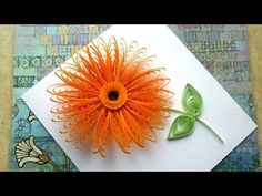It's a Gorgeous Blooming Quilling flower bud. It's Just beautiful, can be used in Quilling greeting cards, Photo Frame and in other craft decoration. Neli Quilling, Quilling Butterfly, Quilling Videos, Quilling Comb, Quilling Paper Craft, Quilling Techniques, Quilling Flowers Tutorial, Quilling Instructions, Paper Quilling Flowers