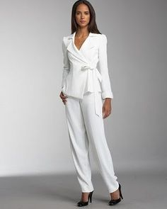 men & women in white suit | White suit trend is One of the biggest ...