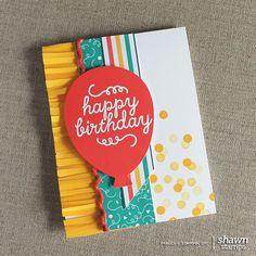 Paper Pumpkin   May 2015 Alternative card idea. shawnstamps.com