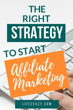 Learn the right strategy to start Affiliate Marketing and make tons of money online. This post is great for all those people who are looking for affiliate marketing for beginners tips to make money online. Affiliate Marketing for beg Affiliate Marketing, Marketing Program, Online Marketing, Digital Marketing, Marketing Jobs, Marketing Strategies, Media Marketing, Earn Money Online, Make Money Blogging