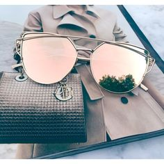 Shop Women's size OS Glasses at a discounted price at Poshmark. Description: Restocked! Cat Eye Aviator Sunglasses. This listing is for a pair of Cat Eye aviator sunshades. Rose Gold Mirrored Sunglasses. Retro. Sunglasses. Wire sunglasses. Trending sunglasses. UV protection. Top quality! Brand new! Bundle and save! ✨1 for $20, 2 for $30, 3 for $40✨ тнαик уσυ. Sold by karaandk. Fast delivery, full service customer support.