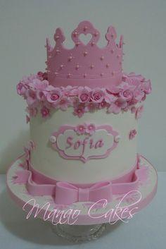 Elegant Birthday Cakes, Baby Birthday Cakes, Beautiful Birthday Cakes, Torta Princess, Princess Theme Cake, Fancy Cakes, Cute Cakes, Cake Icing, Cupcake Cakes