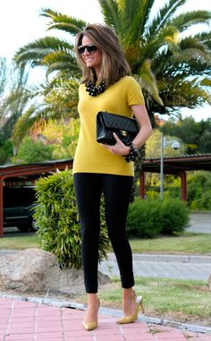 Cool Ideas How To Combine Yellow In Street Style | World inside pictures