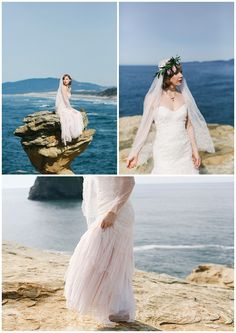 Cape Kiwanda Wedding Dress Inspiration Shoot By Love Lit Photography Shoots Pinterest Light And