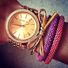 MK, Kate Spade, and Lilly & Laura bracelets