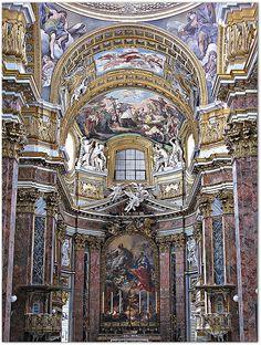 Basílica de Santo Ambrósio e São Carlos - Roma by Francisco Aragão