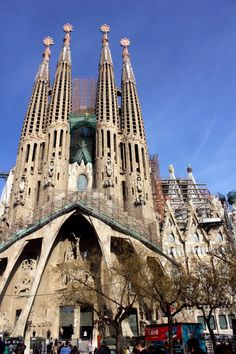 La Sagrada Familia. #Gaudí