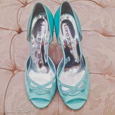 mint wedding shoes | Sapato de casamento Menta by Luana Zabot <3 <3 <3