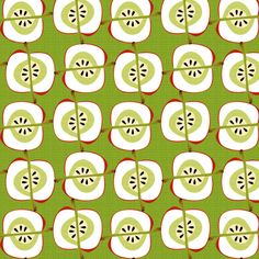 apple weaves fabric by glimmericks on Spoonflower - custom fabric