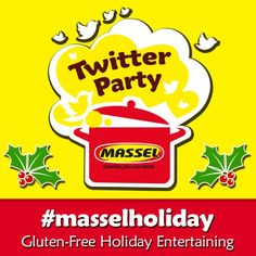 Massel Holiday Twitter Party November 4th: Win a #fitbit and massel products! Check out the details! #client