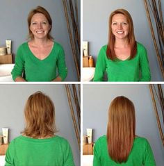 Loving this transformation! VoMor adds volume, thickness, and length... with an added boost of confidence!