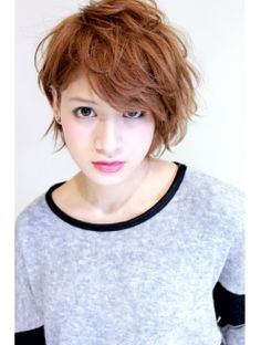 【Unjour Refrain】☆外国人風カジュアルショートボブ(杉本司) Plaits Hairstyles, Chic Hairstyles, Short Hairstyles For Women, Beauty Tips For Hair, Hair Beauty, Medium Hair Styles, Short Hair Styles, Japanese Hairstyle, Asian Hair