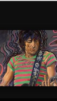9a5d1a3eff Ronnie Wood his art work is amazing. Ron Woods
