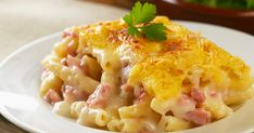 Gouda, Eat Smarter, Ham, Macaroni And Cheese, Ethnic Recipes, Macaroni, Souffle Dish, Noodles, Hams