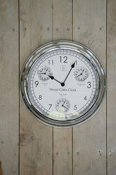 €169,00 World Cities Clock #living #interior #rivieramaison