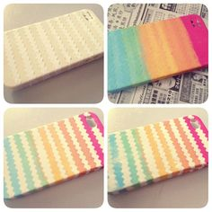 How to make a colorfull case Step-by-step