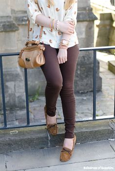 outfit brown jeans - Buscar con Google
