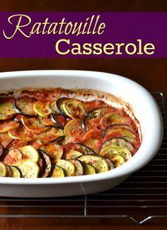 Ratatouille Casserole | Real Food Real Deals #healthy #recipe #vegan