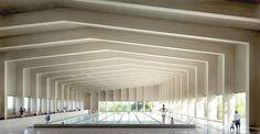 Ashtead pool by Hawkins Brown