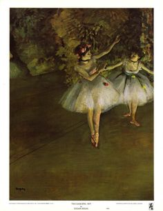 Two Dancers - Degas
