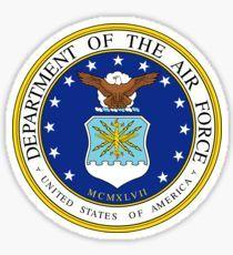 US Air Force Emblem Sticker Sticker