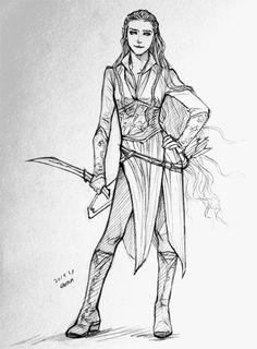 Tauriel :) (My Dwarves)