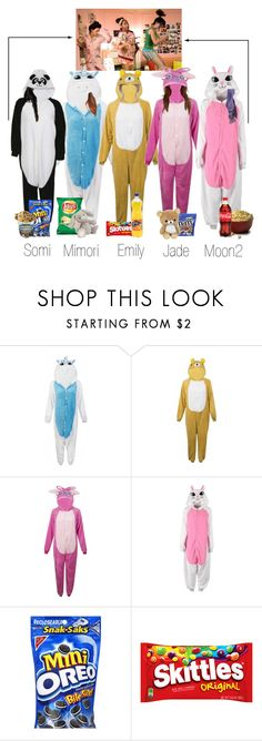 """Pyjama Party"" by scarlet-offical ❤ liked on Polyvore"