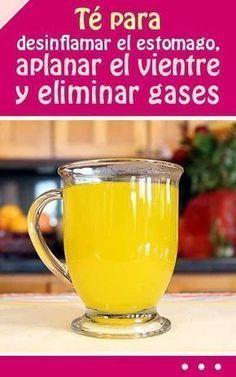 #té para #de sinflamar el #estomago, #aplanar el #vientre y #eliminar #gases #salud #bebida #remedio #casero