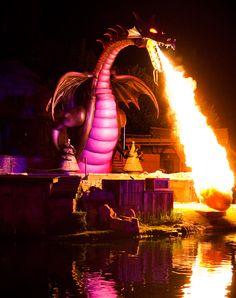 Disneyland's Fantasmic