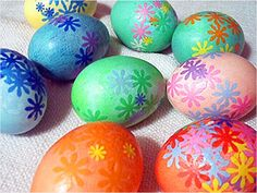 Upgrade your #Easter egg: Dyed and Decoupage Eggs http://www.ivillage.com/kids-easter-crafts/6-b-336801#336828