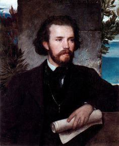 Portrait of the singer Karl Wallenreiter, Arnold Böcklin