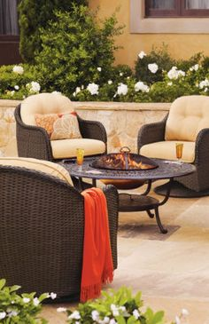 Sophia Outdoor Seating Collection.