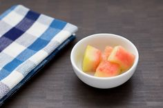 Pickled watermelon rinds