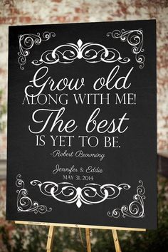 NEW Chalkboard Welcome Sign  11x17  18x24  24x36 by WildHeartPaper