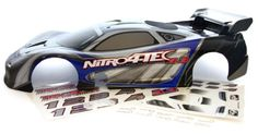 Sceek.Com - Traxxas Nitro 4-Tec 3.3 * BLUE BODY SHELL & WING & DECALS * Black red posts tire  http://sceek.com/product/traxxas-nitro-4-tec-3-3-blue-body-shell-wing-decals-black-red-posts-tire/  available at Sceek.Com