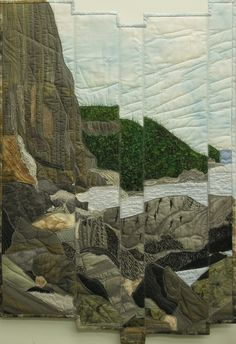 Catherine TIMM :: North Shore Lake Superior [quilt] - enjoyed her program at CTQG