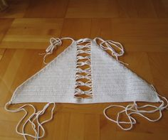 Crochet halter top crochet bikini top crochet bikini by Fayolini