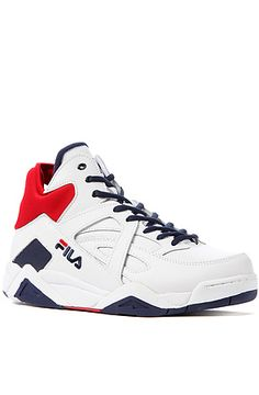 The Cage Sneaker in White by Fila at Karmaloop $75.00