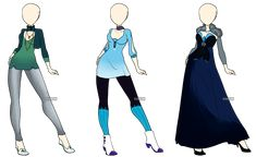 Fashion Adoptables 3 - CLOSED by Karijn-s-Basement.deviantart.com on @deviantART