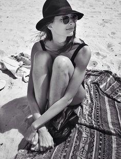 Todo el día en la playa.