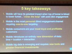 5 key takeaways on mobile marketing revealed at the today Mobile Marketing, Key, Unique Key
